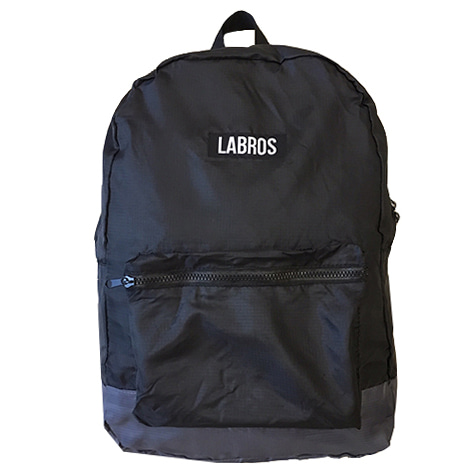 Packable Backpack (Black/ Grey)