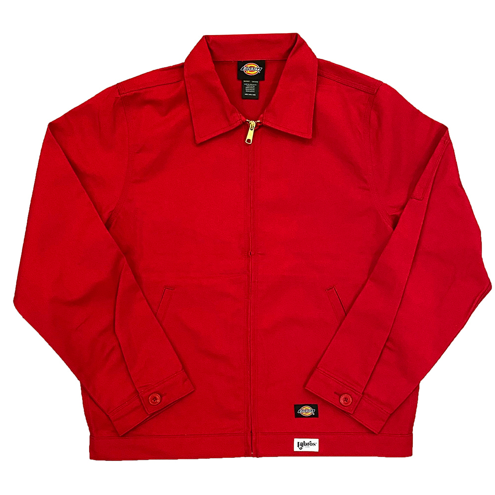 Hotel Labros Dickies Work Jacket (Red)
