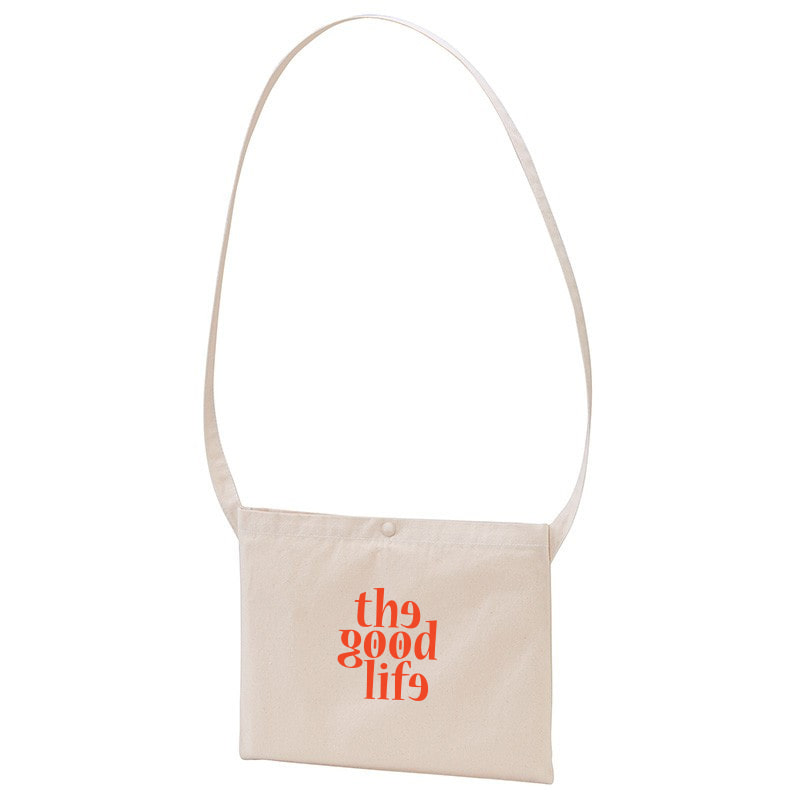 TGL Canvas Bag (Natural/Red)