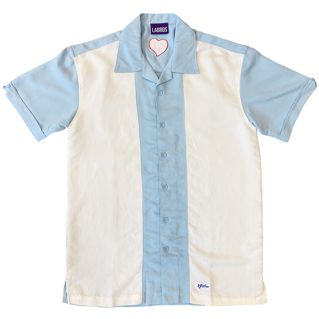 Heart Two Tone Shirt (Sora)