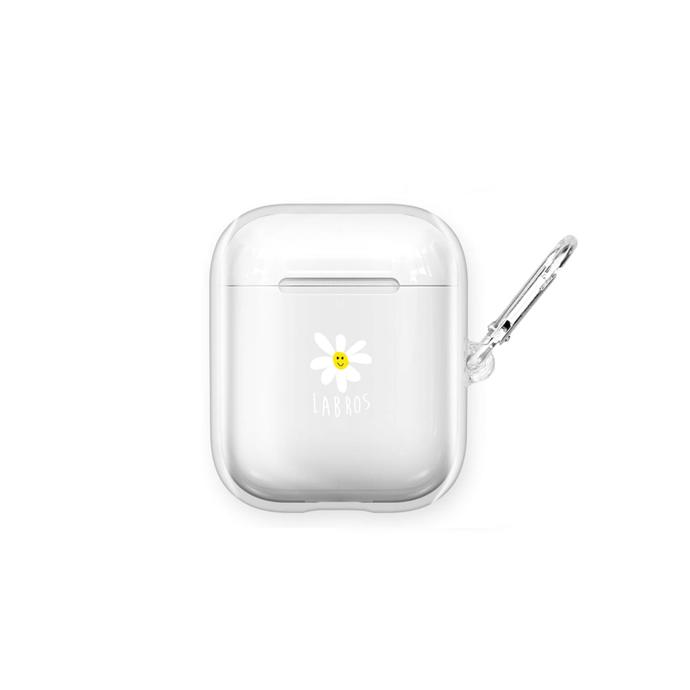 Daisy Airpods Hard Case (Clear)
