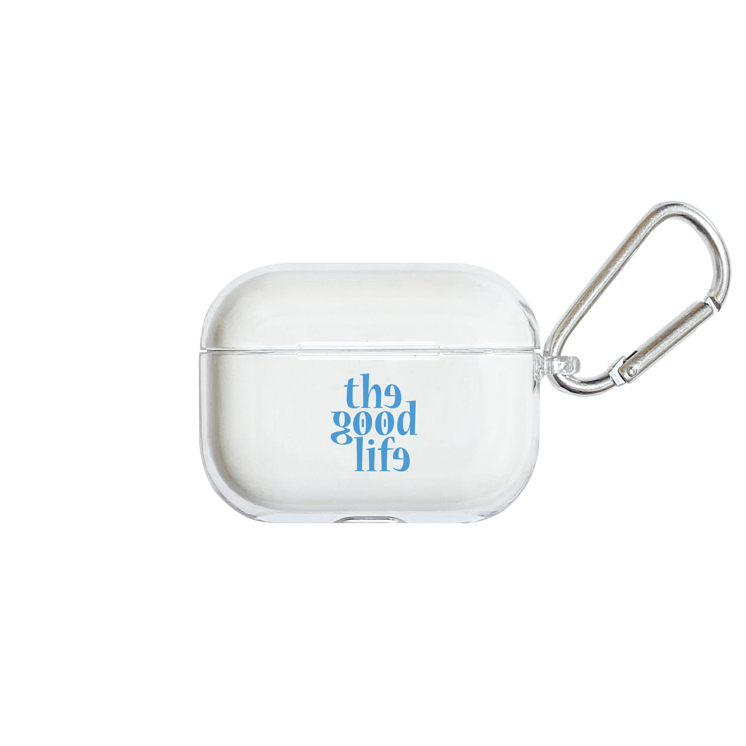 TGL Airpods Pro Hard Case (Clear/Blue)