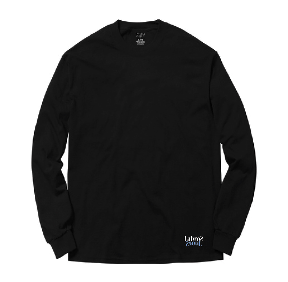 TGL Two-tone L/S Tee (Black)