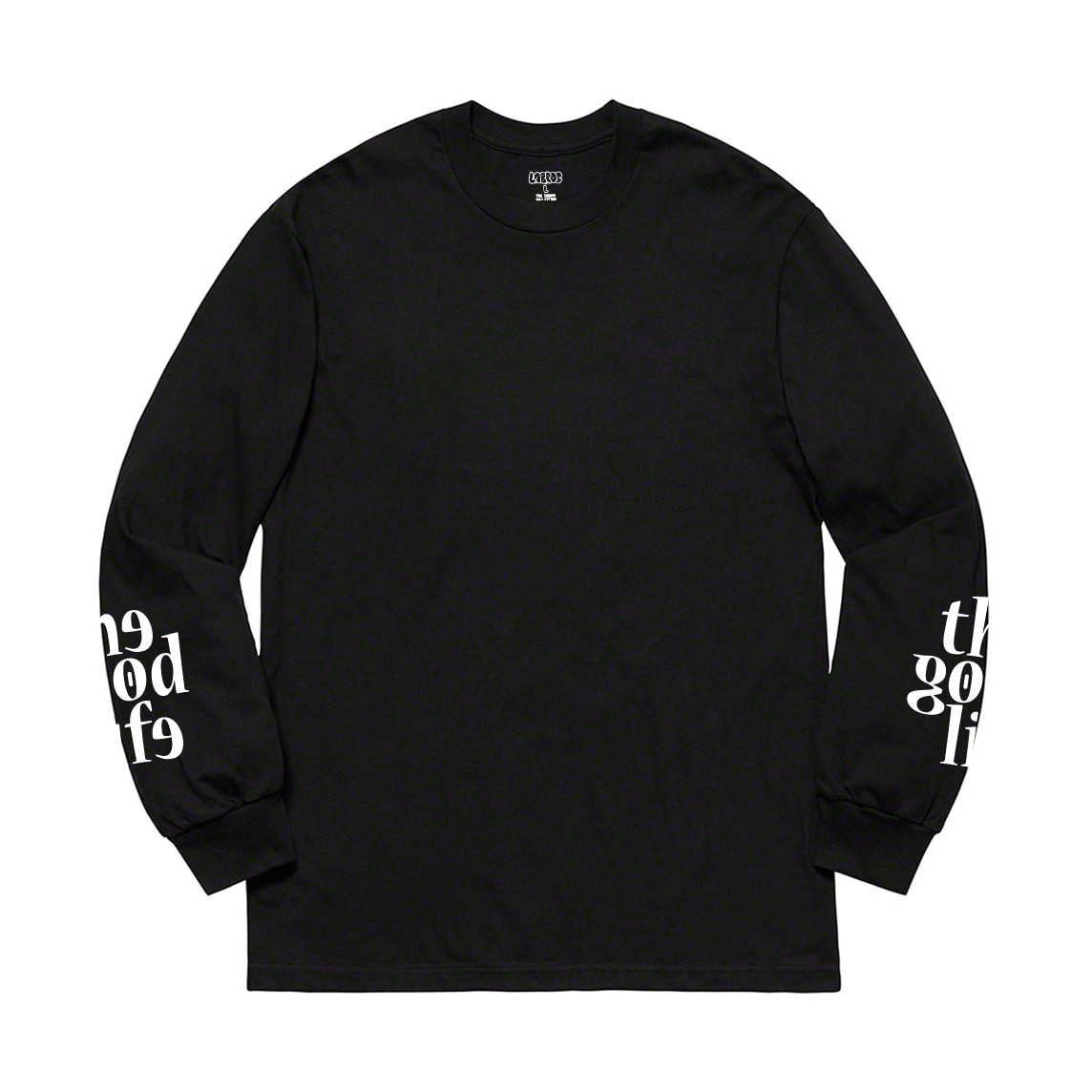 TGL Sleeve L/S Puff Tee (Black)