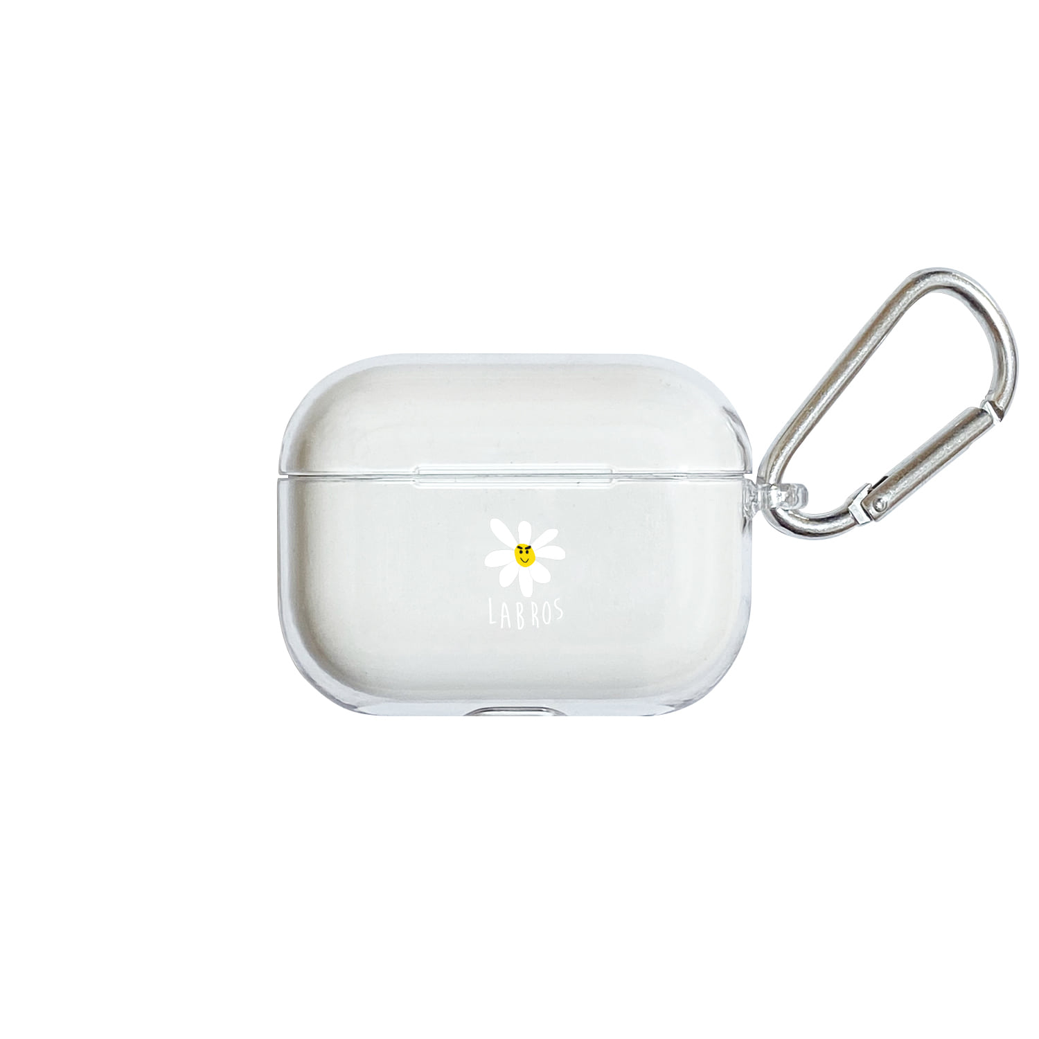 Smart Daisy Airpods Pro Hard Case (Clear)