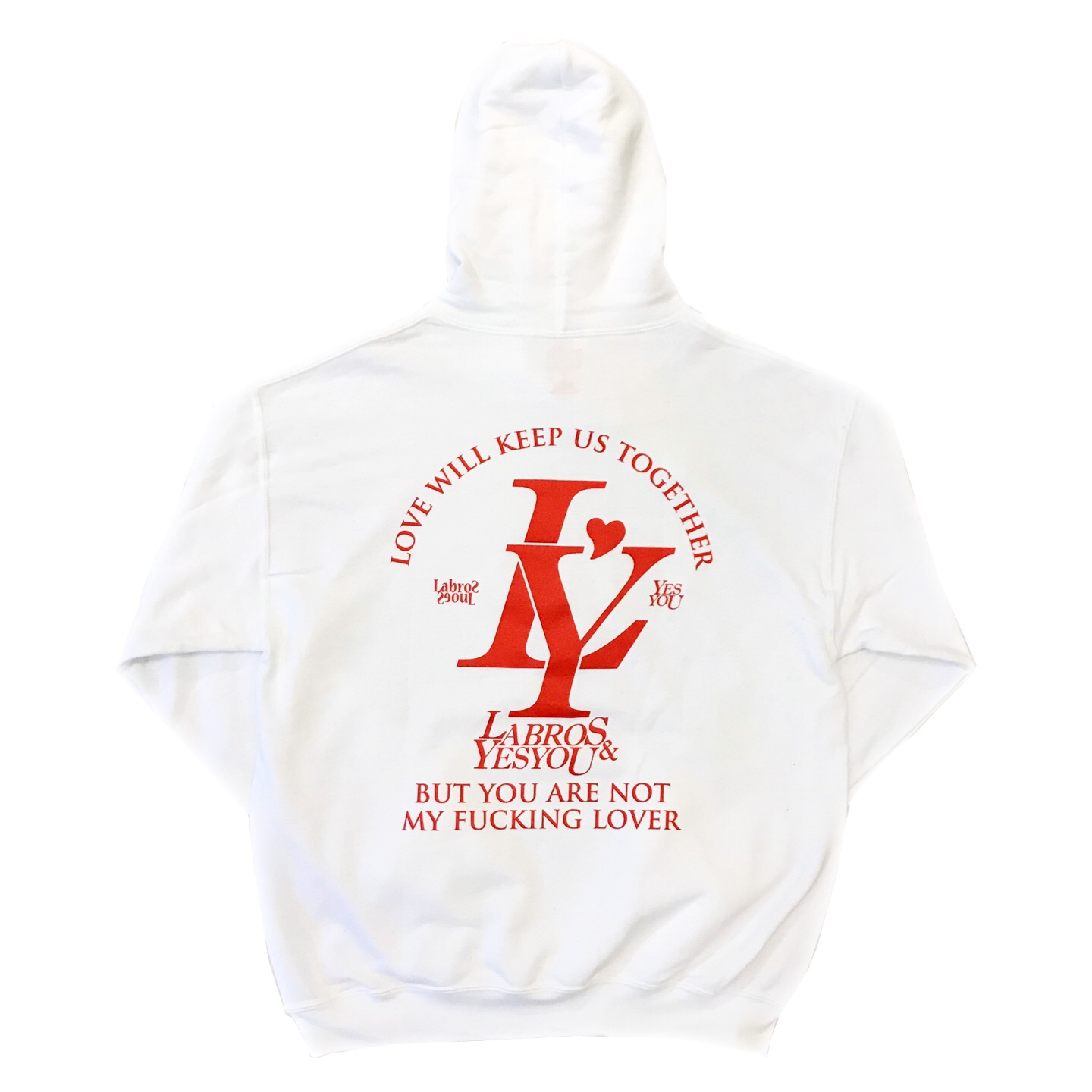 Labros Yesyou LY Logo Hoodie (White)