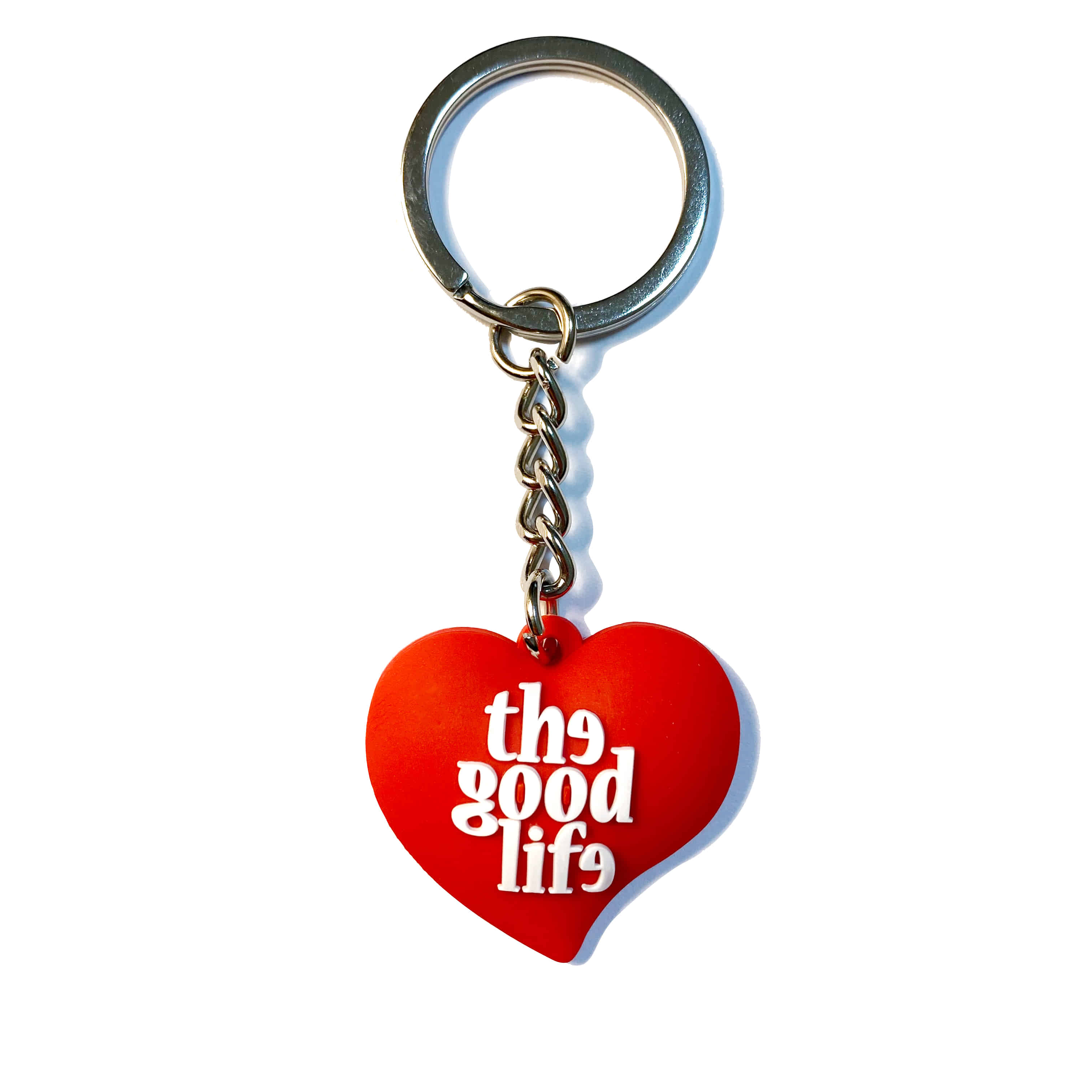 TGL Rubber Keychain (Red)