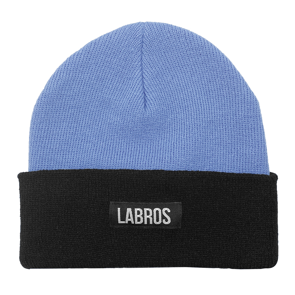 Box Logo Two Tone Beanie (Sora)