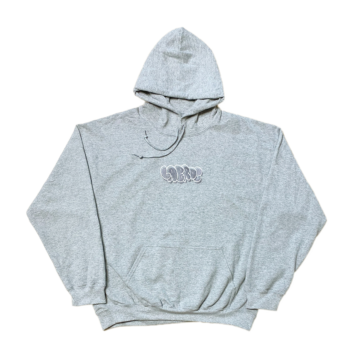 Bubble Hoodie (Heather Grey)