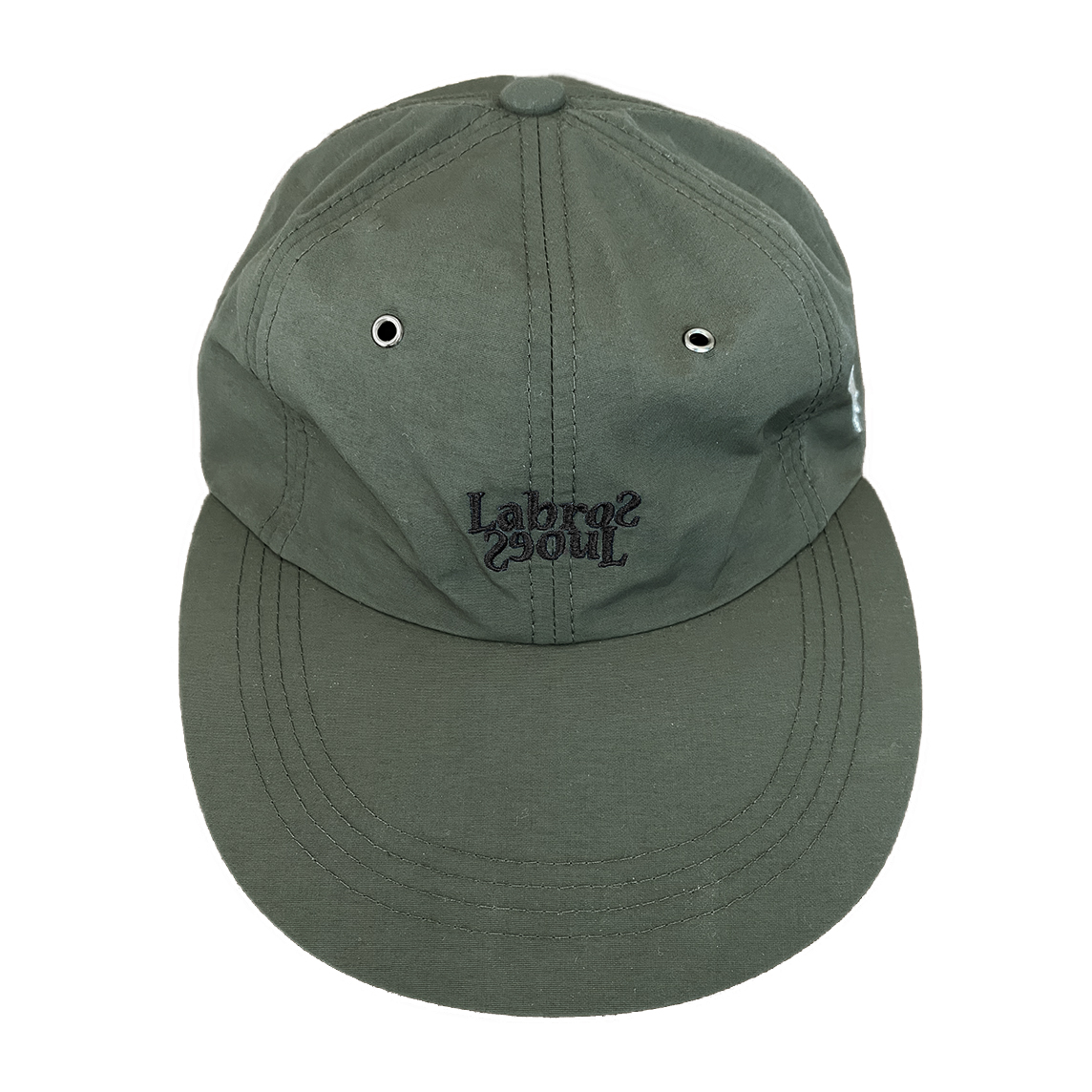Bullet Hole 6panel Cap (Olive Green)