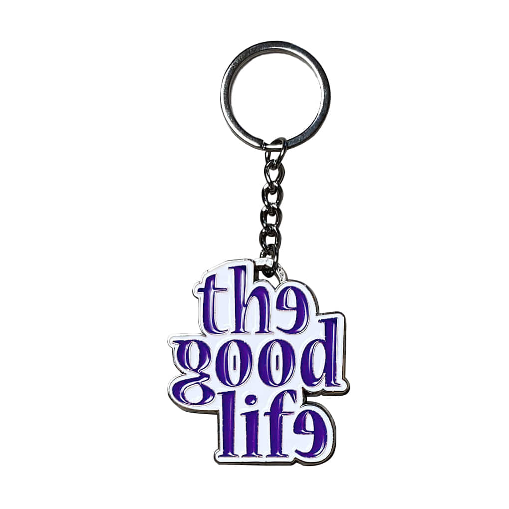 Heavy TGL Keychain (Purple)