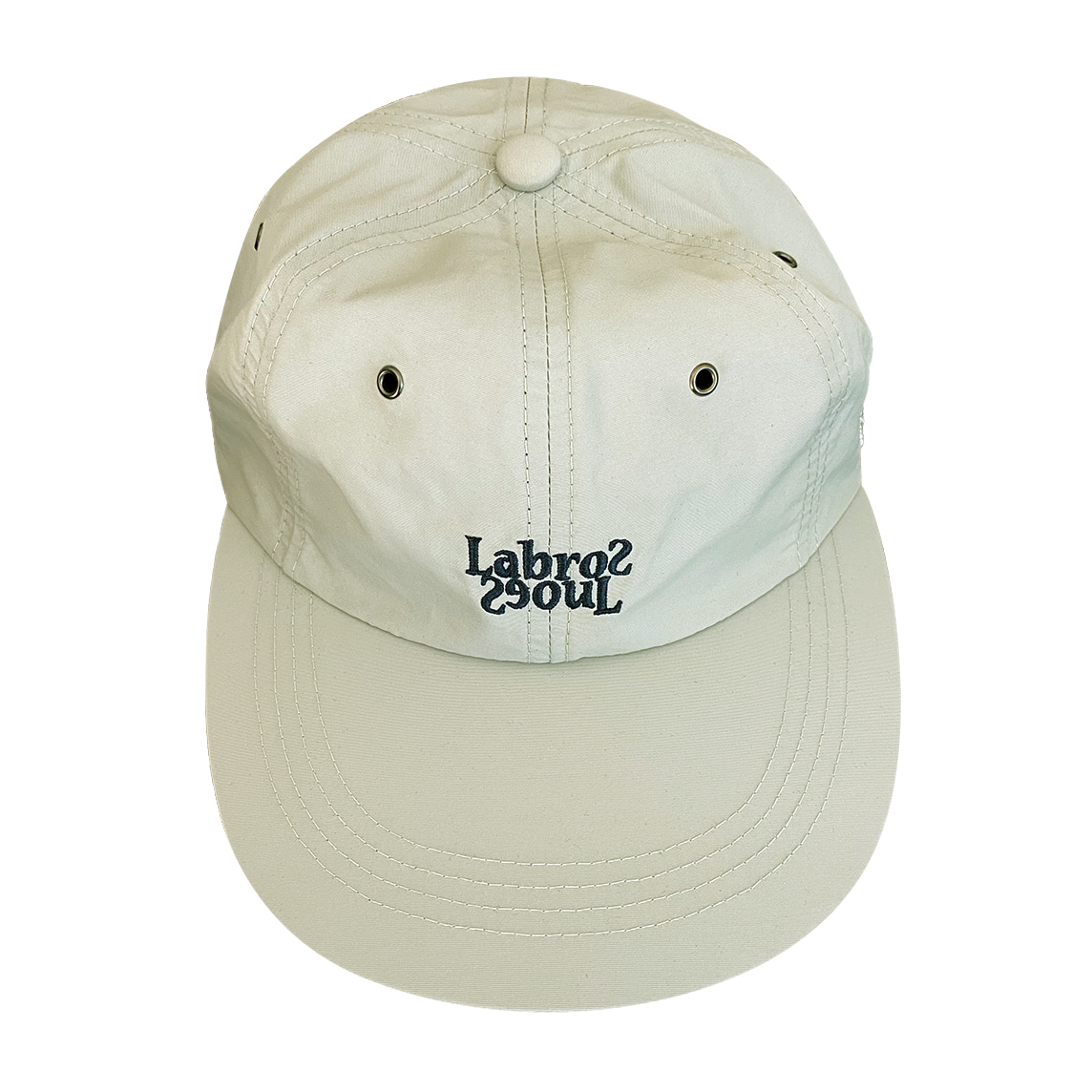 Bullet Hole 6panel Cap (Beige)