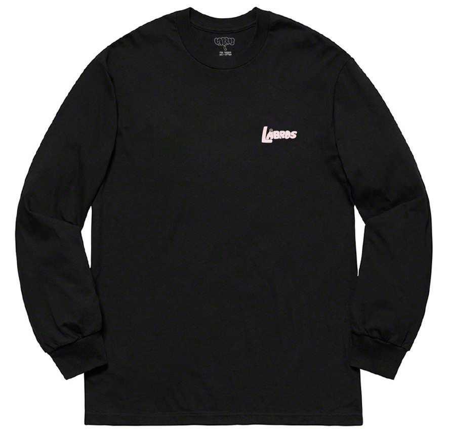 Bubble Shot L/S Tee (Black)