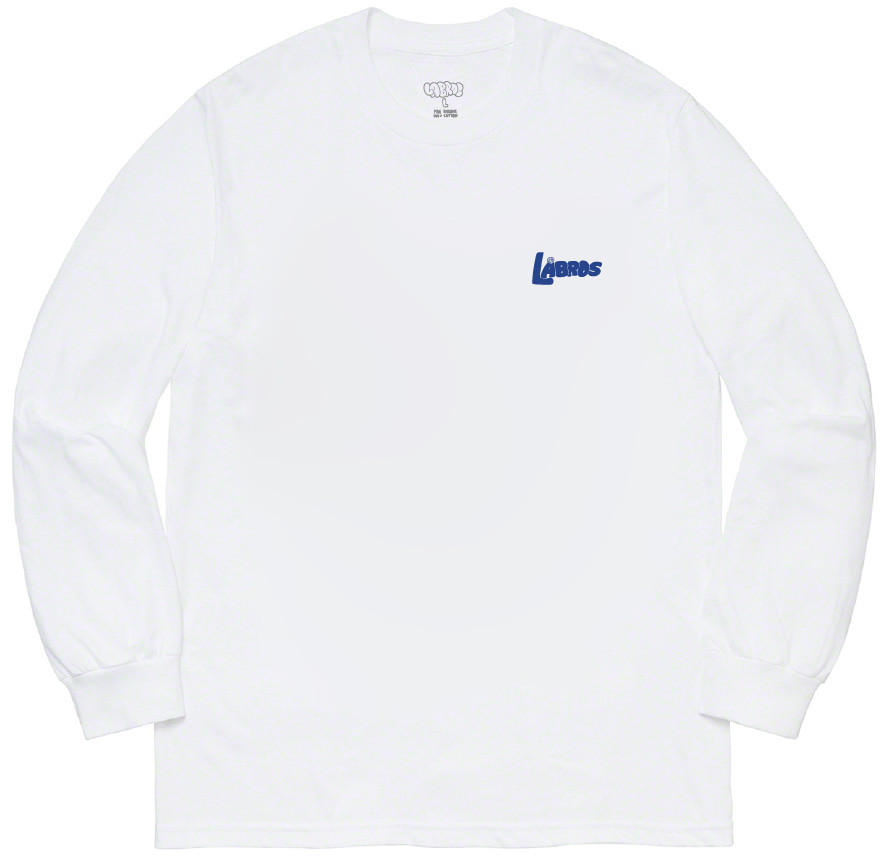 Bubble Shot L/S Tee (White)