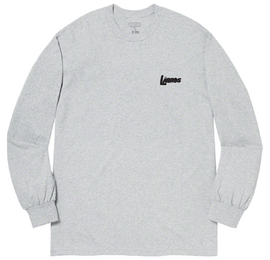 Bubble Shot L/S Tee (Heather Grey)