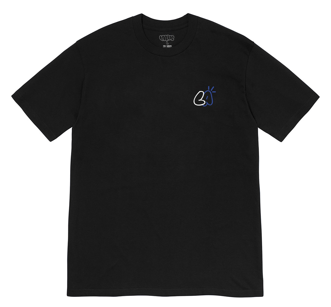Atmos Bubble Logo Tee (Black)