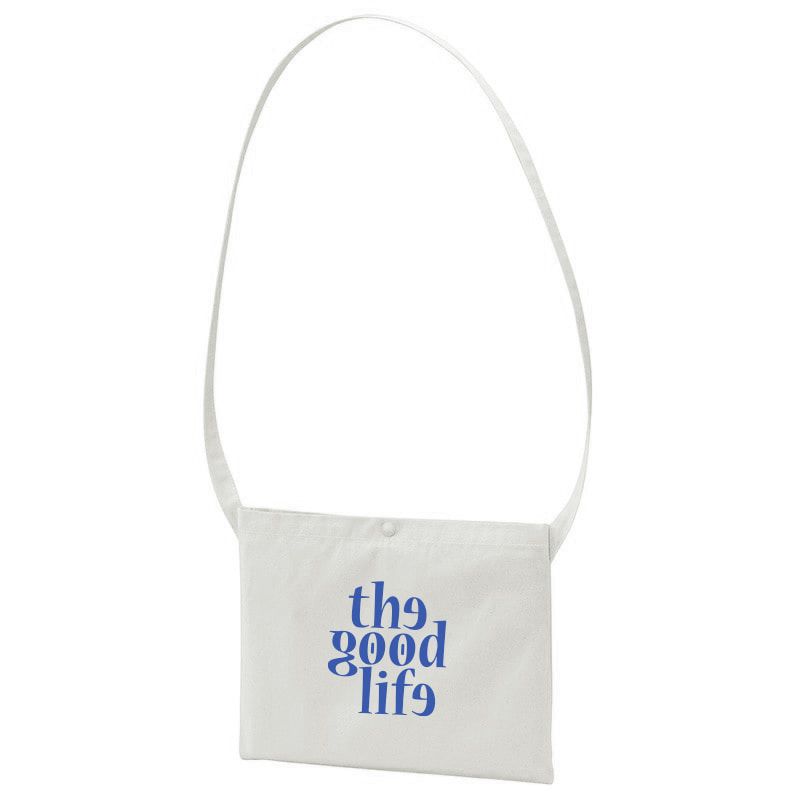 TGL Canvas Bag (Grey/ Blue)