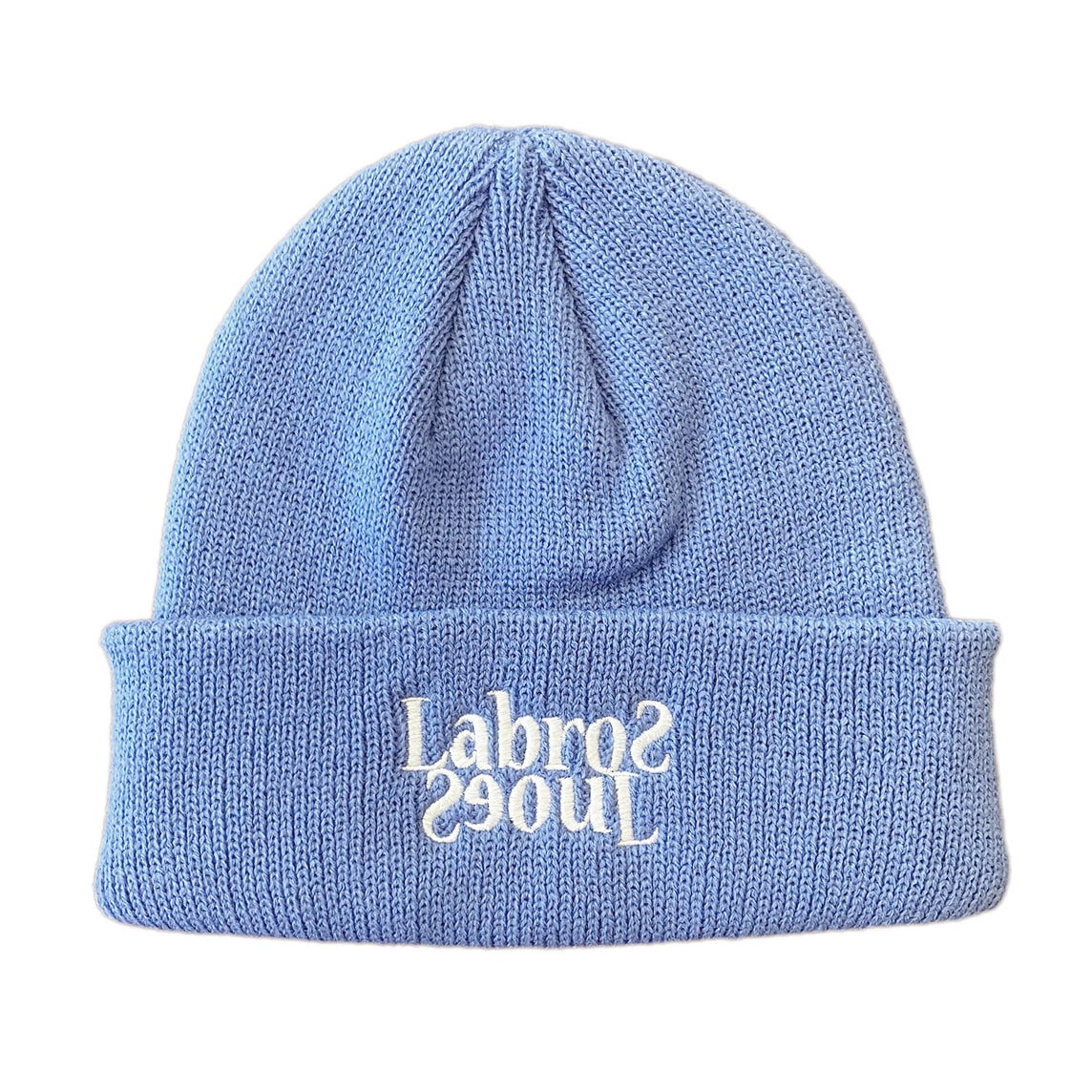 Flip Logo Beanie (Carolina Blue)